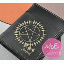 Black Butler Ciel Phantomhive Black Wallet 09