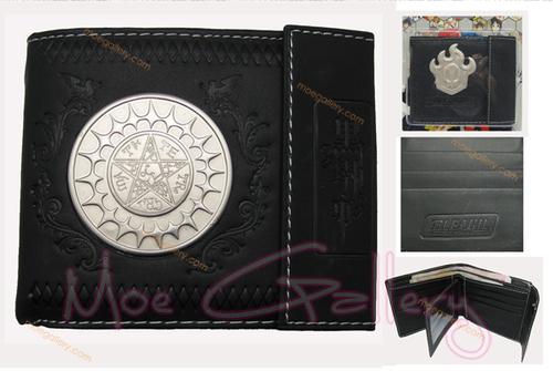 Black Butler Logo Badge Wallet 01