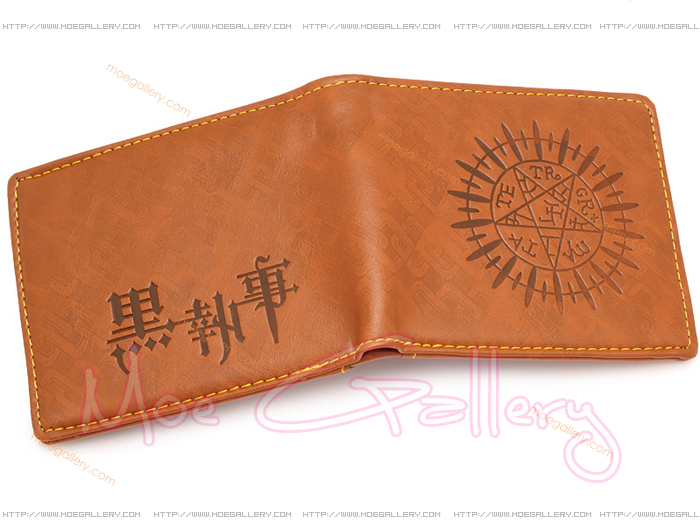 Black Butler Logo Wallet 07