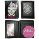 Black Butler Sebastian Michaelis Black Wallet 04