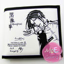 Black Butler Sebastian Michaelis White Wallet 01