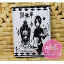 Black Butler Sebastian Michaelis White Wallet 05