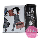 Black Butler Sebastian Michaelis White Wallet 06